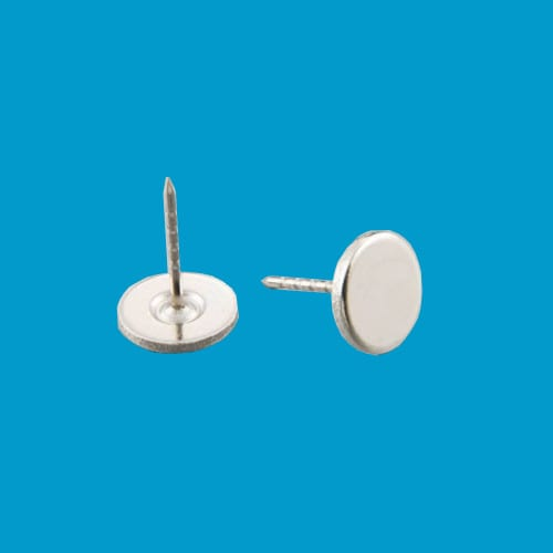 artikelbeveiliging - winkelbeveiliging - productbeveiliging - beveiligingslabels - pin - platte kop