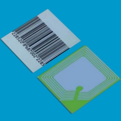 artikelbeveiliging - winkelbeveiliging - productbeveiliging - beveiligingslabel - RF - beveiligingsetiket - beveiligingssticker - deactiveerbaar 5050-B