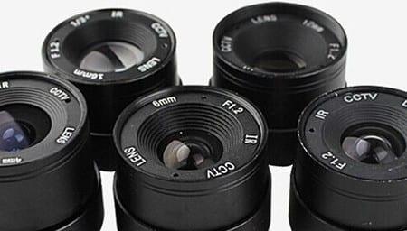 Camerabeveiliging | CCTV | Cameralenzen
