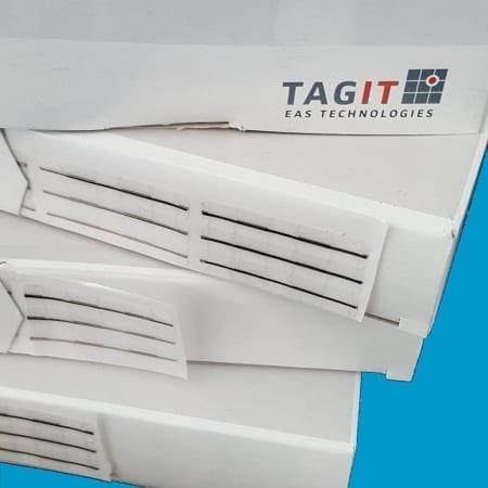 Artikelbeveiliging - winkelbeveiliging - productbeveiliging - beveiligingslabels - beveiligingsstickers - beveiligingsetiketten - strip - stripjes - 651 - TRIO
