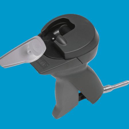 Artikelbeveiliging - Winkelbeveiliging - Productbeveiliging - ontkoppelaar - detacher - handheld - hard tag - beveiligingslabels - super tag - am
