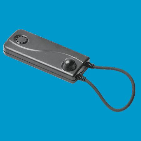 Artikelbeveiliging - winkelbeveiliging - productbeveiliging - beveiligingslabel, cable lock, cablelok, zwart, 2-alarm