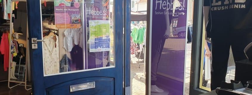 Hebbes! - Kids Fashion - kinderkleding - Nunspeet - mode - artikelbeveiliging - productbeveiliging - winkelbeveiliging - detectiepoortjes - RF - BeSuRe - Classico - beveiligingslabels - hard tags