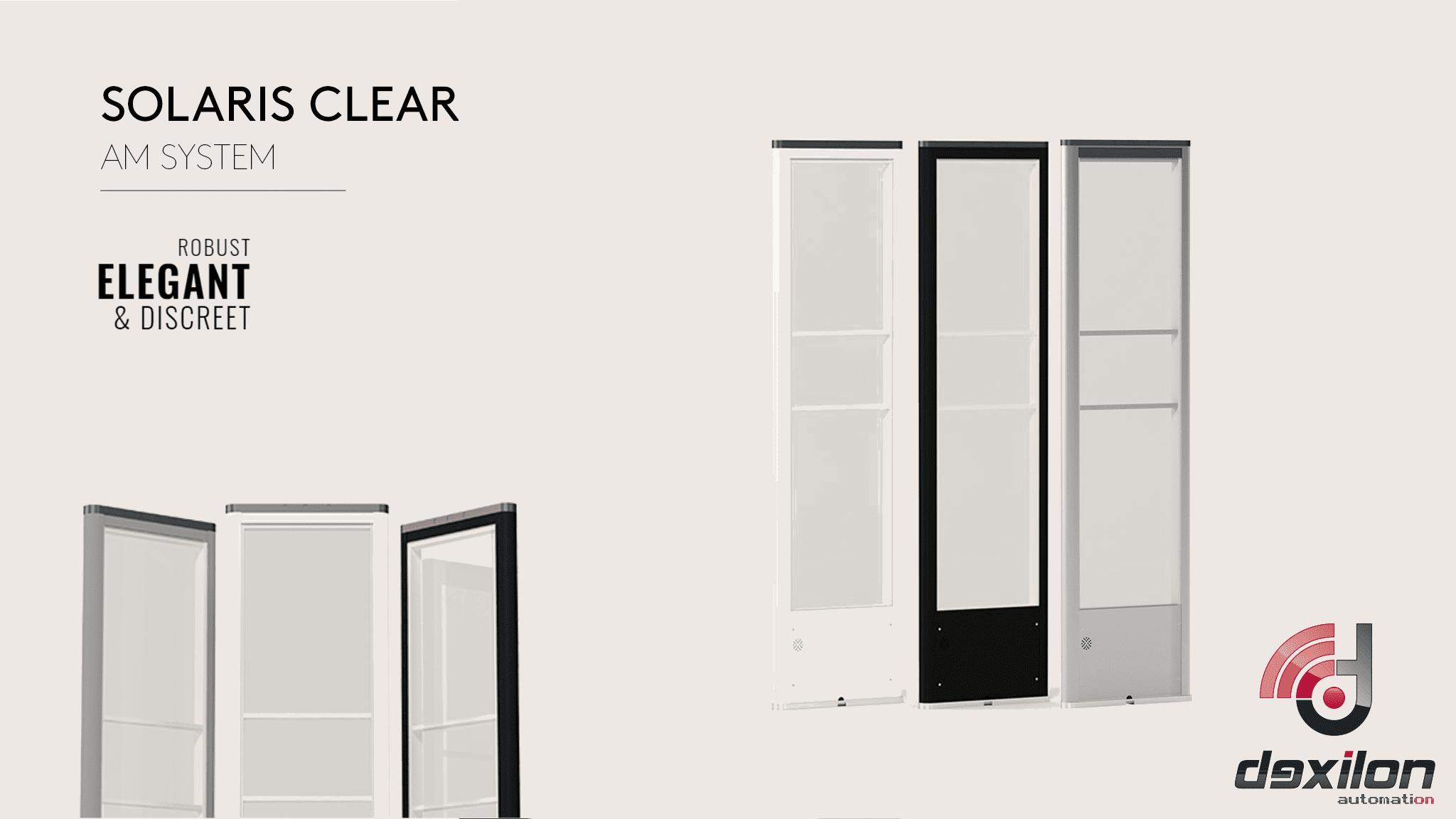 Dexilon - Solaris - Clear - G10V - AM - Akoesto Magnetisch - artikelbeveiliging - winkelbeveiliging - productbeveiliging