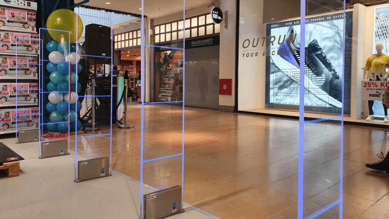 Iridium - Sirius - Plexi - Jase & Joy - Amstelveen - Stadshart - RF - Radio Frequent - Artikelbeveiliging - productbeveiliging - winkelbeveiliging - detectiepoortje