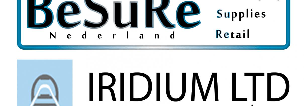 logo - iridium - besure nederland - artikelbeveiliging - productbeveiliging - winkelbeveiliging - RF - Radio Frequent - detectiepoortjes - beveiligingspoortjes - slowakije - nederland - belgië - luxemburg