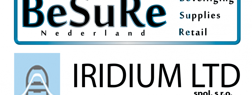 logo - iridium - besure nederland - artikelbeveiliging - productbeveiliging - winkelbeveiliging - RF - Radio Frequent - detectiepoortjes - beveiligingspoortjes - slowakije - nederland - belgië - luxemburg