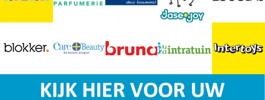Categorie banner per winkelketen
