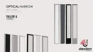 Dexilon Optical Narrow AM G10V - artikelbeveiliging - detectiepoortjes - poortjes - beveiligingslabels - beveiligingsetiketten