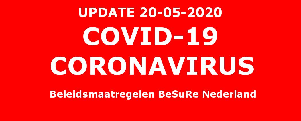 Covid 19 beleidsmaatregelen BeSuRe Nederland