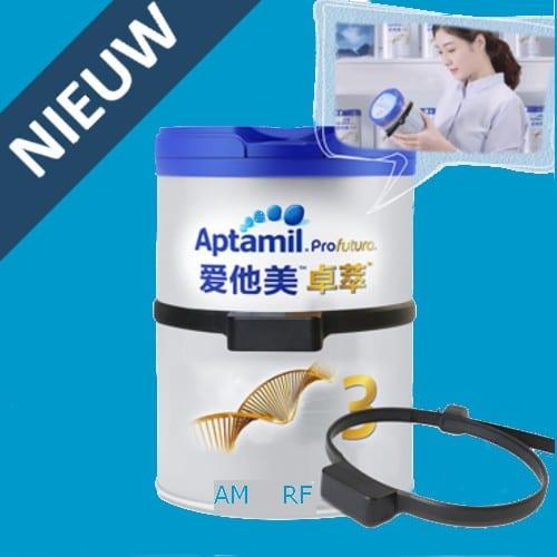 Artikelbeveiliging - derving - bestrijding - blikje - nutricia - babymelk - AM - RF -